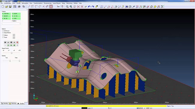 CAD/CAM-система Radm-ax – лидер среди программного обеспечения для пятиосевых лазерных станков, разработанная для автомобильной, самолетостроительной и прочей инженерной промышленности.