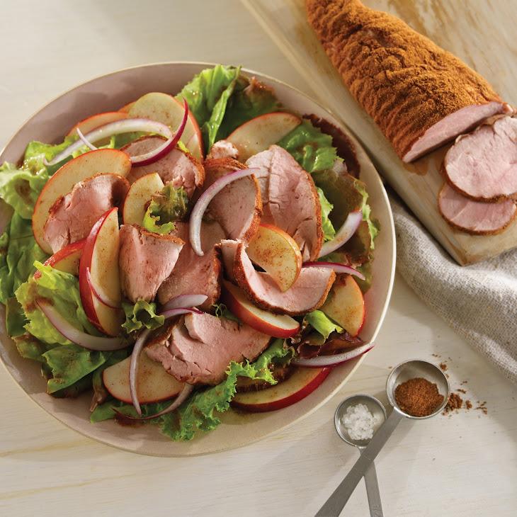Five-Spice Pork and Apple Salad Recipe