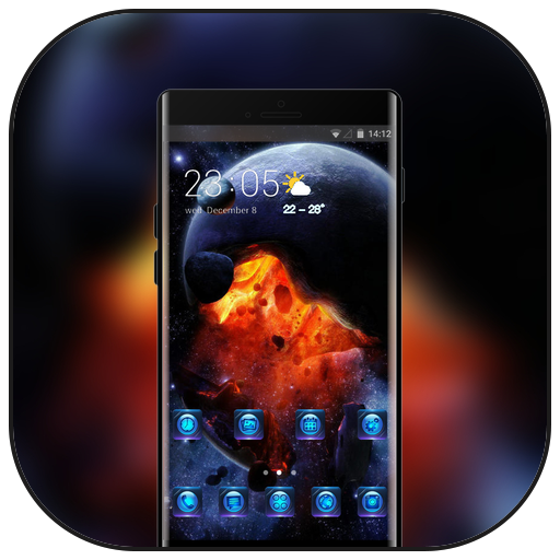 Theme for htc desire626G plus Dual SIM galaxy icon