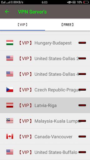 VIP Turbo VPN - Unlimited Free Vip Vpn screenshot 7