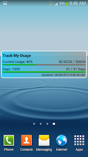 Track My Usage- screenshot thumbnail