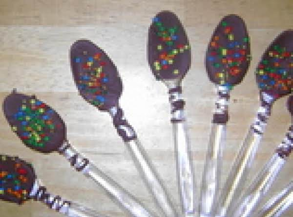 Holiday Dipped Spoons