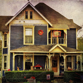Full scale dollhouse by Vivian Gordon - Buildings & Architecture Homes ( vigor, home, architecture, rural, country )