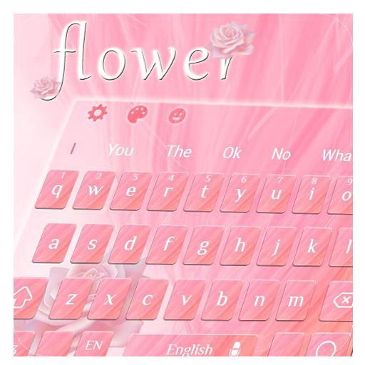 Flower Pink Keyboard