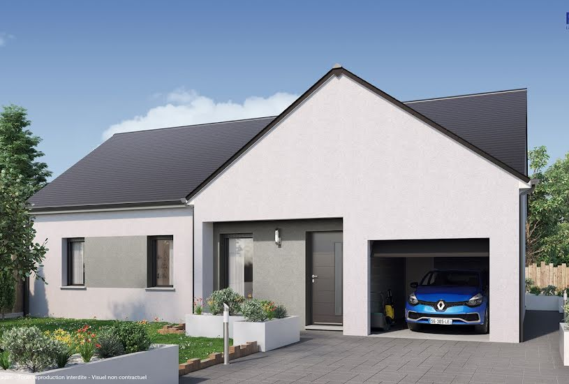 Vente Terrain + Maison - Terrain : 507m² - Maison : 75m² à Juvardeil (49330)