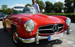 Mercedes-Benz 190 SL Rent Bayern