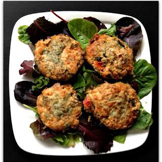Baked Quinoa Kale and Veggie Patties