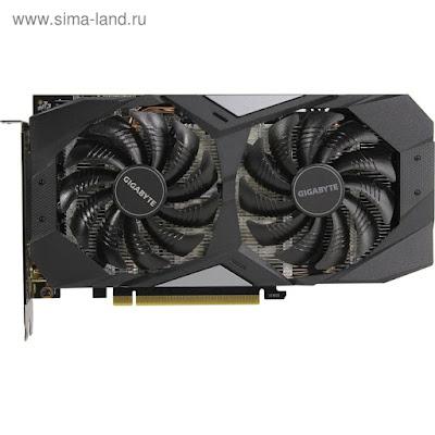 Видеокарта Gigabyte nVidia GeForce GTX 1660, 6Гб, 192bit, GDDR5, HDMI, DPx3, HDCP