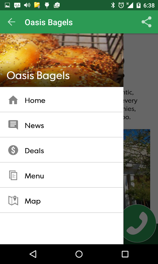 Oasis Bagels- screenshot