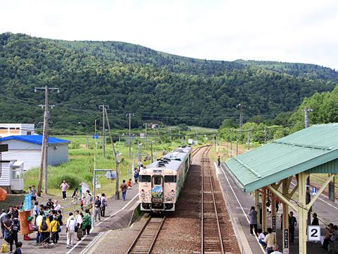 JR北海道 観光列車「風っこそうや」 音威子府にて_21