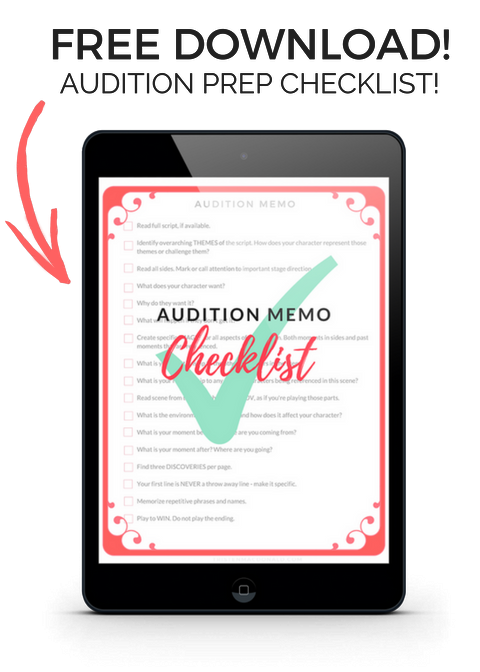 Get Your Audition Checklist