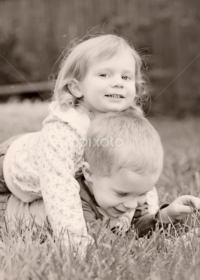 Play time by Rebecca Downes - Babies & Children Children Candids