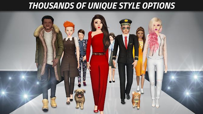 Avakin Life - 3D virtual world Android 10