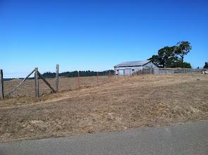 Photo: First tracks at Tin Barn this morning...