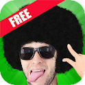 Afro Booth : Make U Afro style icon