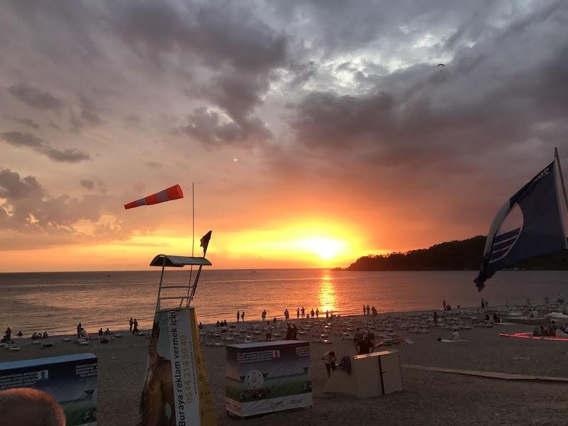 Turkish Sunset in Oludeniz SIv week
