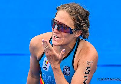 """Valerie Barthelemy pakt tiende plaats in triatlon: """"Beste resultaat in mijn carrière"""""""