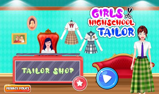 High School Uniform Tailor Games: Dress Maker Shop android2mod screenshots 6