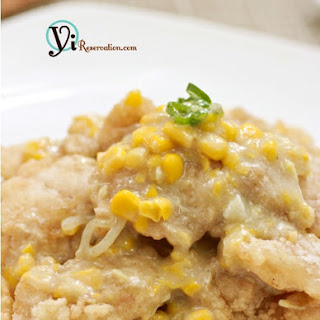 Fish Fillets in Creamy Corn Sauce