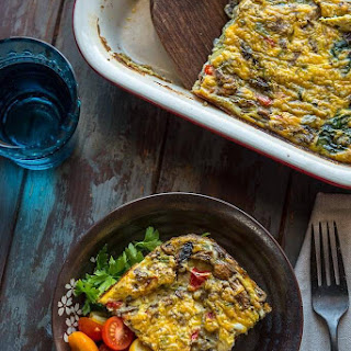 Healthy Breakfast Casserole with Vegetables Recipe