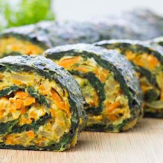 Spinach Rolls.