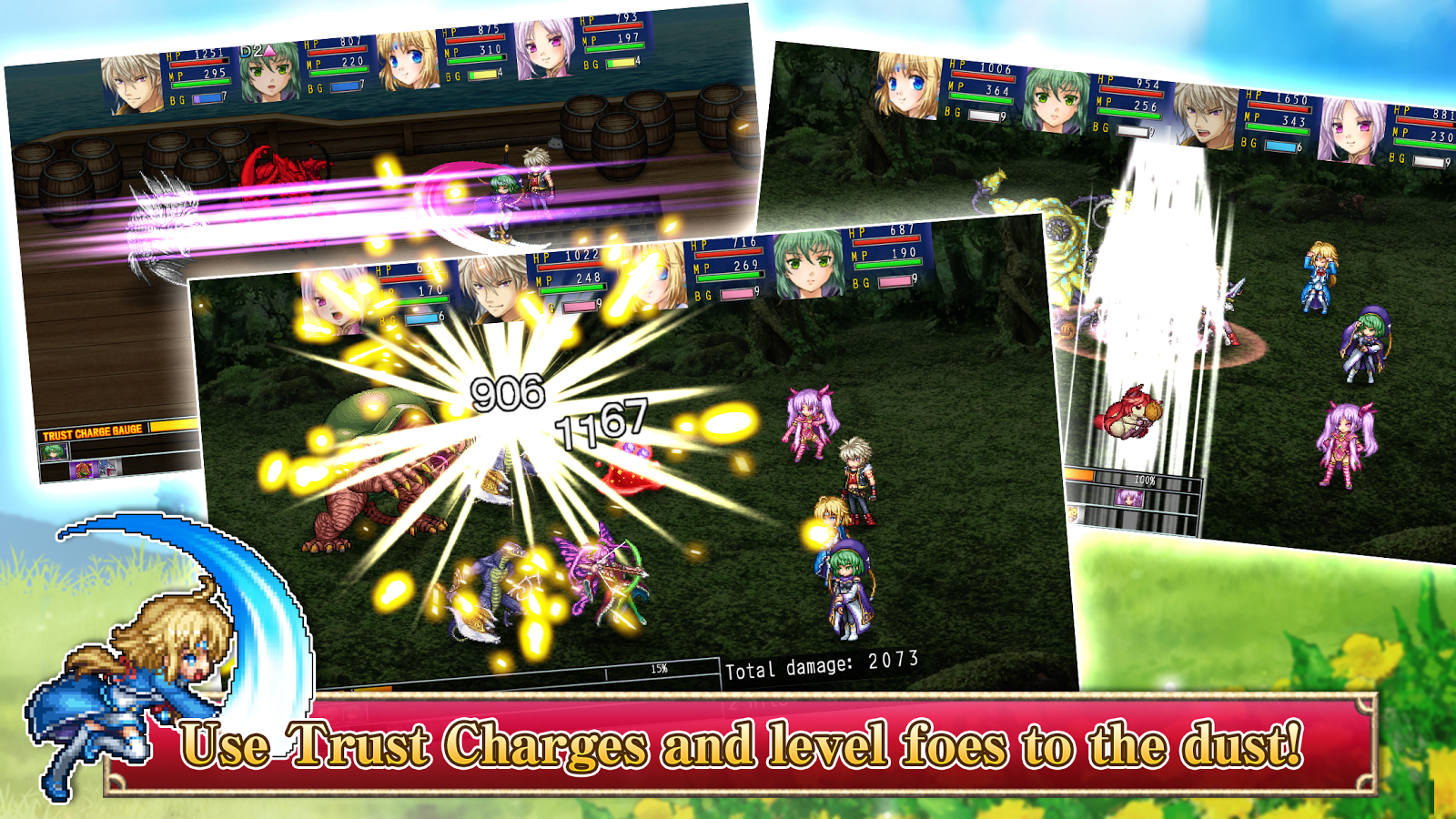 RPG Asdivine Cross- screenshot