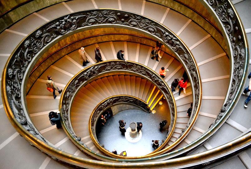 La chiocciola dei Musei Vaticani di newxeres