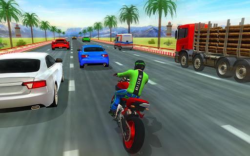 Bike rider highway racer - New bike racing Games  captures d'écran 2