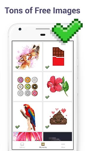 Pixel Art - Colour by Number Book 2.1.2 screenshots 2