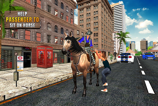 Code Triche Flying Horse Taxi Transport en ville APK MOD (Astuce) screenshots 5