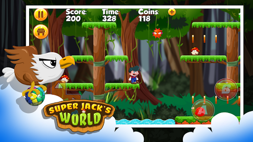 Super Jack's World - Super Jungle World screenshot 5