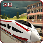 Speed Bullet Train Drive 3D
