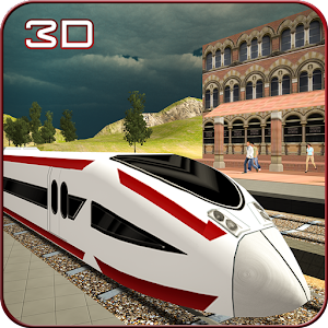 Speed Bullet Train Drive 3D for PC and MAC