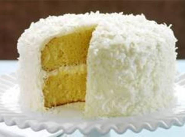 Missy's Coconut Cream Cake Recipe
