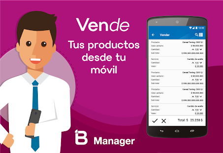 BManager - Control - náhled