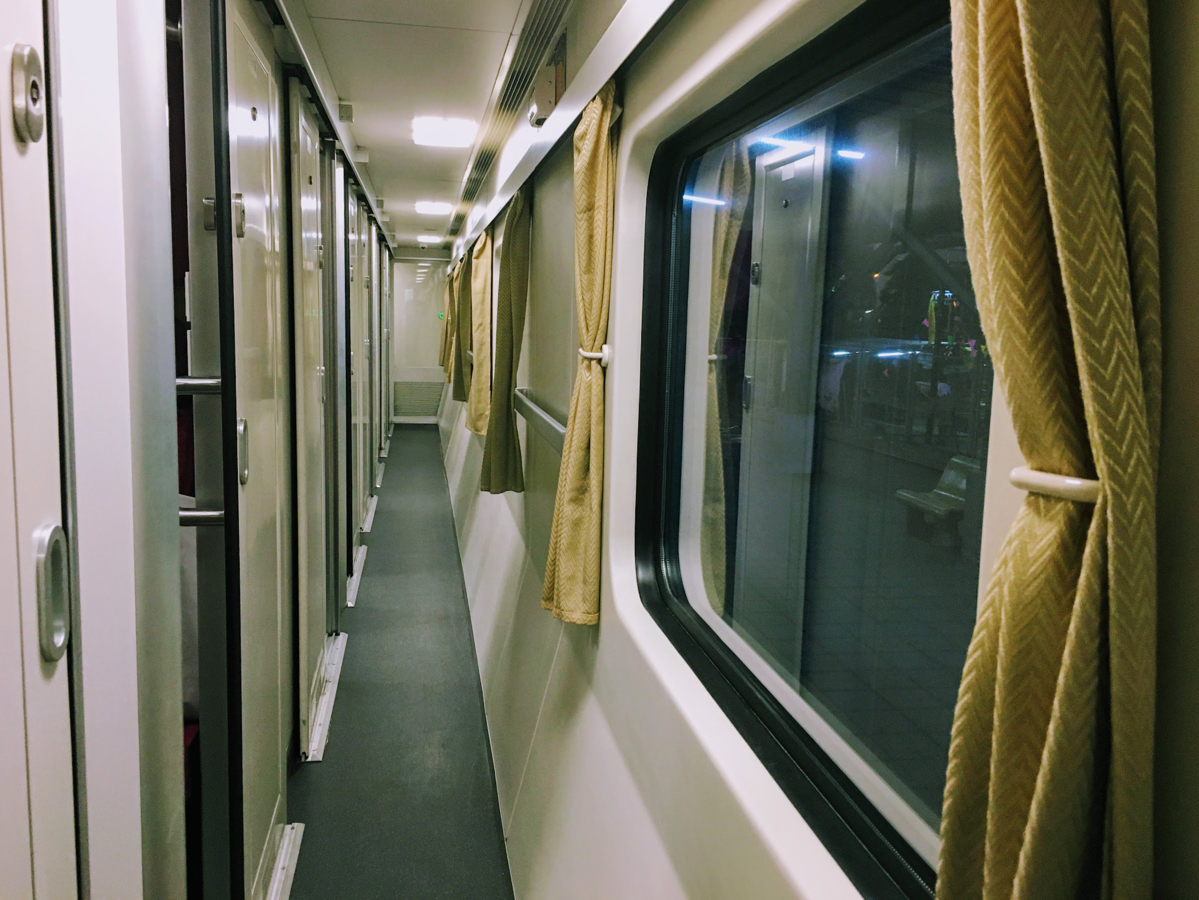 Cabin in the train, experience on Thailand's first class train