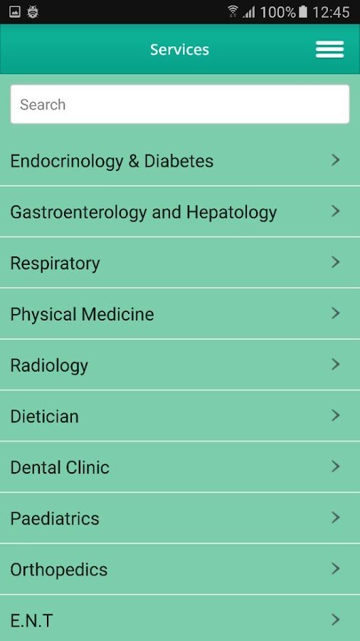 International Clinic (IC)- screenshot