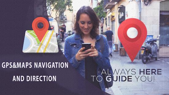 GPS&Maps Navigateur Guide Direction Tips 2018 - náhled