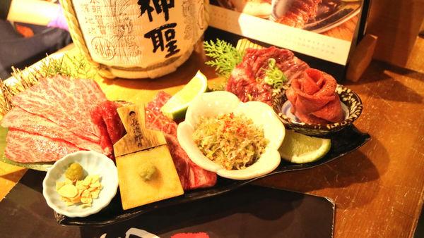 台北.小滿苑燒肉.高級澳洲和牛.貼心桌邊服務.注定讓人再訪的蔥花蛋拌飯!