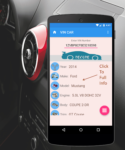 Auto VIN Decode Pro  screenshots 2