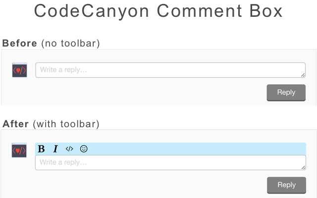 CodeCanyon Toolbar