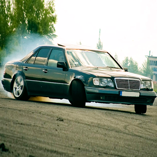 Limo W124 Driving
