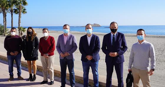 Medio millón de euros para renovar el Paseo Marítimo de Carboneras