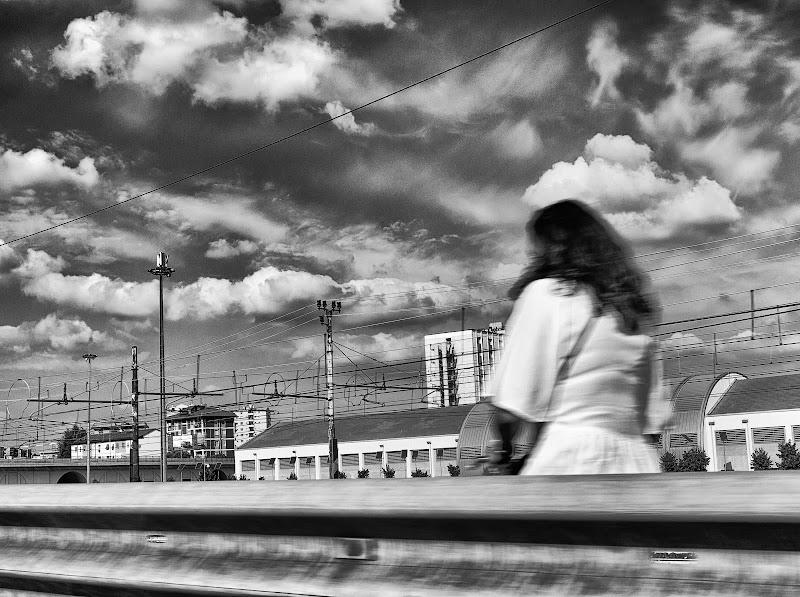 Il ponte sulla ferrovia di F.O.