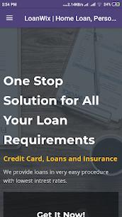 LoanWix   Credit Card, Loans and Insurance 1