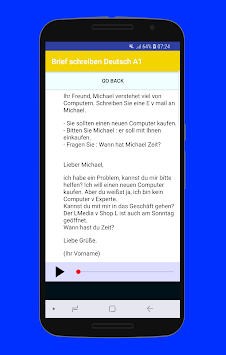 Brief Schreiben Deutsch A1 Apk Latest Version Download Free