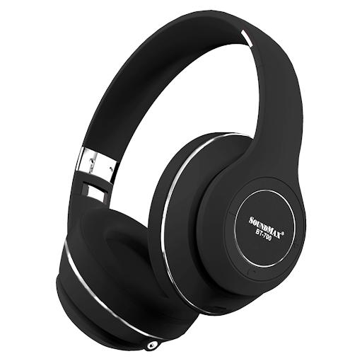 Tai nghe Bluetooth Soundmax BT700 (Đen)-1