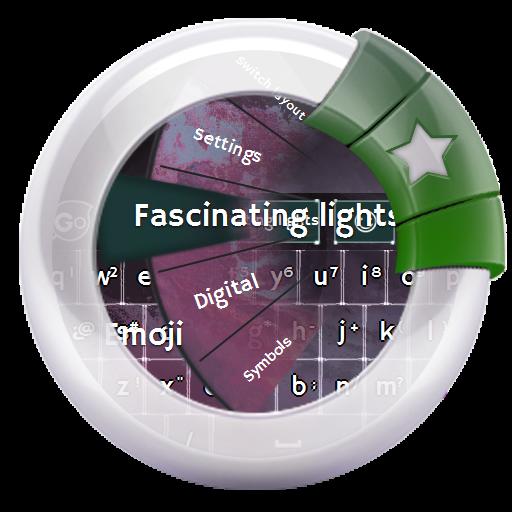 个人化の魅力的なライト GO Keyboard LOGO-記事Game