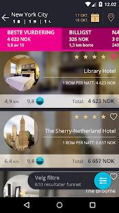 momondo - Billig Fly og Hotell-skjermdump – miniatyrbilde