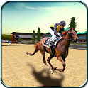 Horse Racing 3D 2016 icon